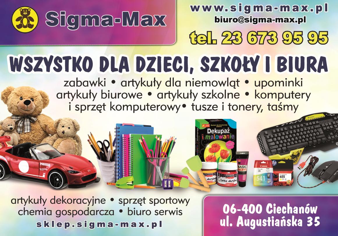 Sigma Max Sp Z Oo Ciechanów Zabawki Art Dla Niemowląt