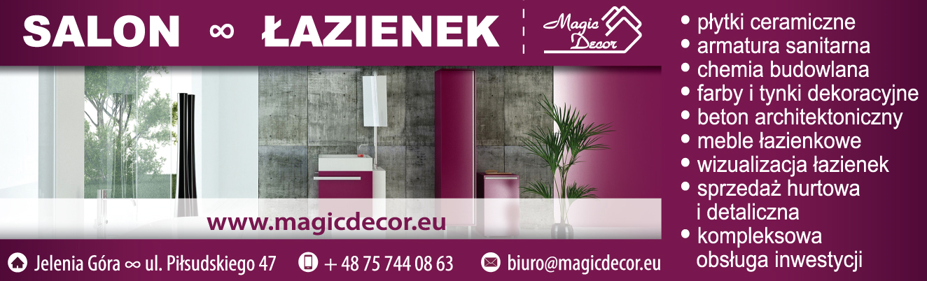 MAGIC DECOR Jelenia Góra SALON ŁAZIENEK