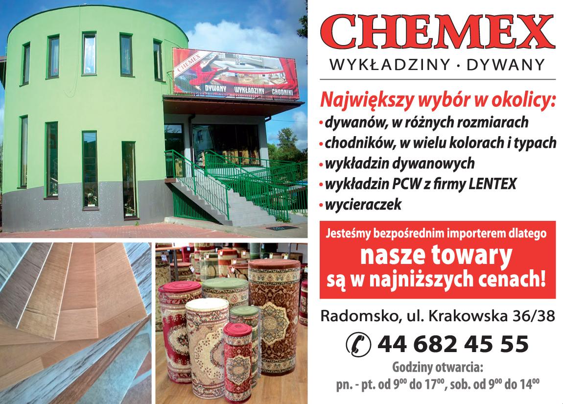 Chemex Radomsko Hurtownia Dywanów I Wykładzin